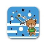 купить Детские настенные часы Bear цена, отзывы