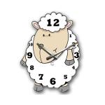купить Детские настенные часы Dolly цена, отзывы