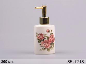 купить Диспенсер для мыла Корейская роза 260 мл цена, отзывы