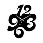 купить Дизайнерские настенные часы Figures цена, отзывы