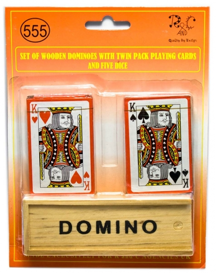 купить Домино с двумя колодами цена, отзывы