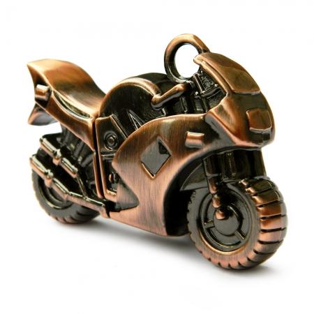 купить Флешка 16 Gb металл Мотоцикл цена, отзывы