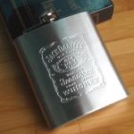 купить Фляга Jack Daniels 210 мл цена, отзывы