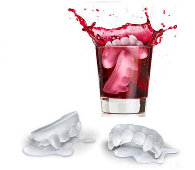 купить Форма для льда зубы Вампира цена, отзывы
