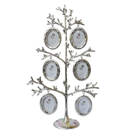 купить Фоторамка семейное дерево на 6 фотографий цена, отзывы