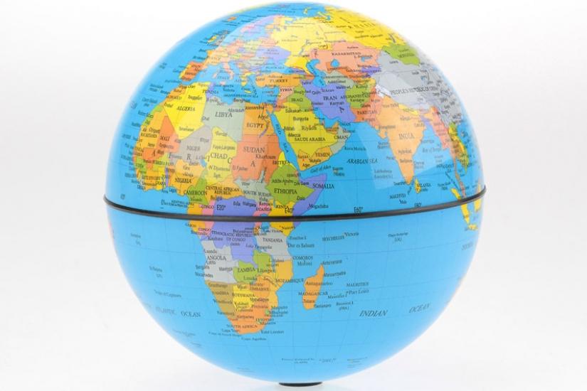 купить Глобус вращающийся круговорот 15 см цена, отзывы