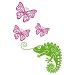 купить Интерьерная Наклейка Chameleon цена, отзывы