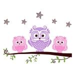 купить Интерьерная Наклейка Owls цена, отзывы