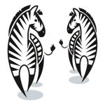 купить Интерьерная Наклейка Zebra цена, отзывы