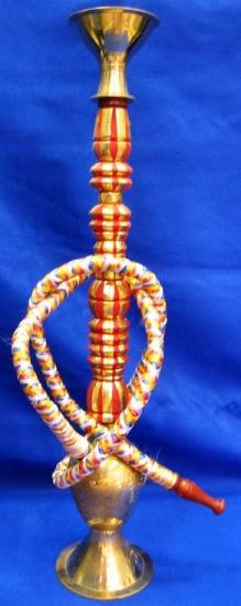 купить Кальян (на 1 персону)(16 см.) бронзовый с тканью цена, отзывы