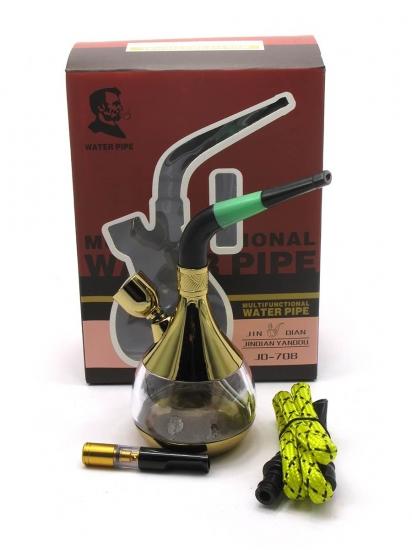 купить Кальян  (водяной фильтр для сигарет)12,5Х7Х5 см бронза, скло цена, отзывы