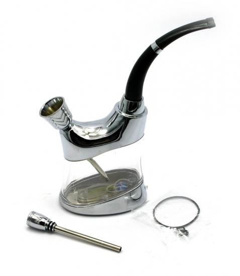 купить Кальян мини  (водяной фильтр для сигарет)11Х14Х3 см бронза, скло цена, отзывы