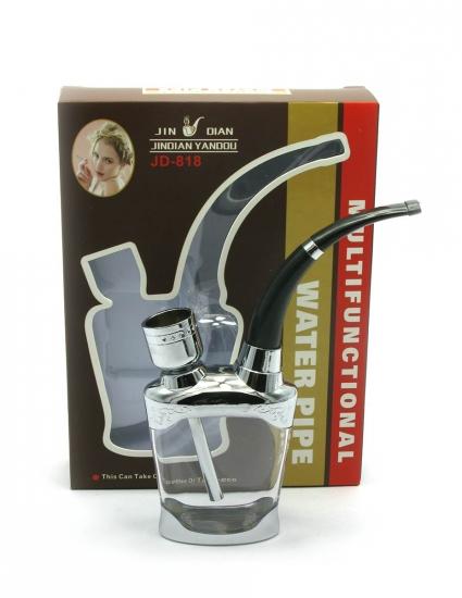 купить Кальян мини  (водяной фильтр для сигарет)13Х10Х3 см бронза, скло цена, отзывы