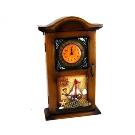 купить Ключница + часы парусник цена, отзывы