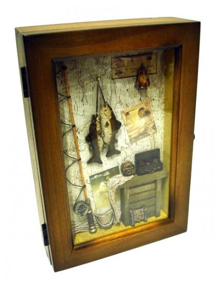 купить Ключница для рыбака  цена, отзывы