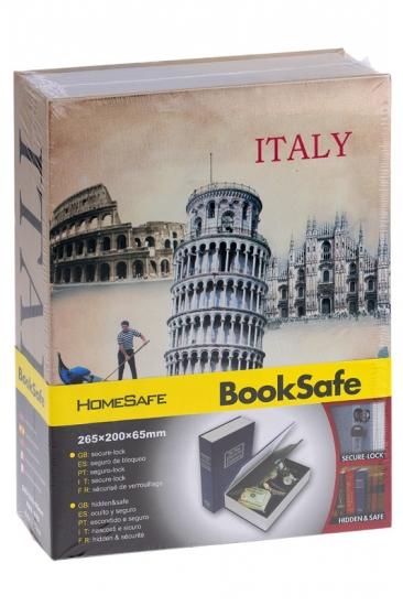 купить Книга сейф Италия 24 см цена, отзывы
