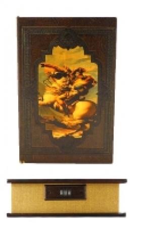 купить Книга сейф Наполеон с кодовым замком мал цена, отзывы