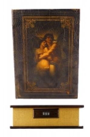 купить Книга сейф Влюбленные с кодовоым замком Кожа 34 см цена, отзывы