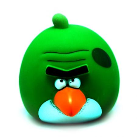 купить Копилка Angry Birds  зеленая цена, отзывы