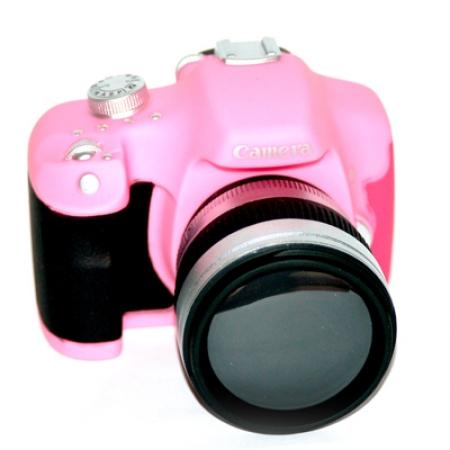 купить Копилка Фотоаппарат розовая цена, отзывы