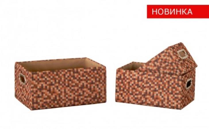 купить Короб Рыжие клеточки FBB03-L цена, отзывы