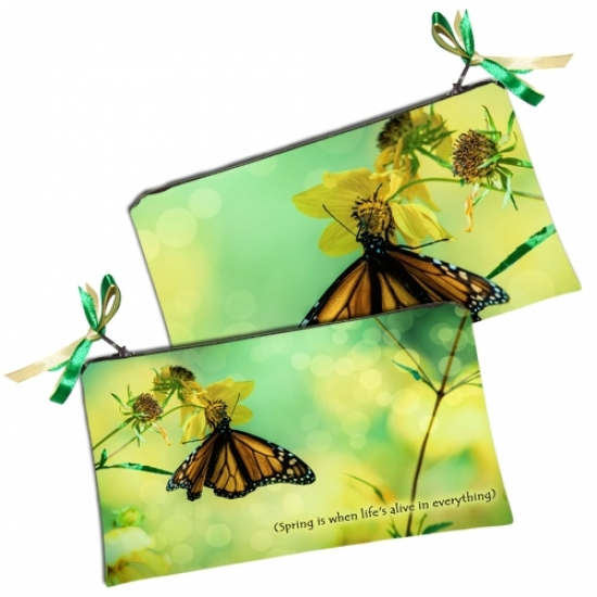 купить Косметичка - кошелек Бабочка цена, отзывы