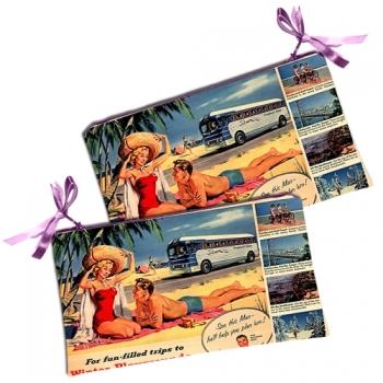 купить Косметичка - кошелек Пляжники цена, отзывы