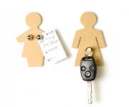 купить MAN + WOMAN набор магнитов -крючков цена, отзывы