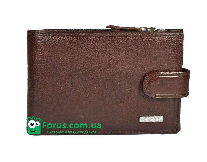 купить Мужской кошелек  кожа Monice 008-13 цена, отзывы