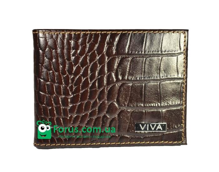 купить Мужской кошелек зажим кожа Форио цена, отзывы