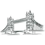 купить Наклейка Декоративная London Bridge цена, отзывы