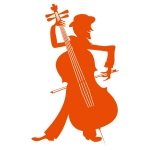 купить Наклейка Декоративная Violoncellist цена, отзывы