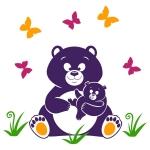 купить Наклейка Детская Bear цена, отзывы