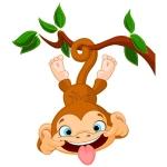 купить Наклейка Детская Funny Monkey цена, отзывы