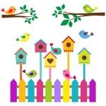 купить Наклейка Детская Nesting Box цена, отзывы