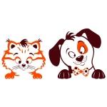 купить Наклейка Детская Pets цена, отзывы