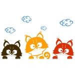 купить Наклейка Детская Three Kittens цена, отзывы