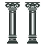 купить Наклейка Интерьерная Columns цена, отзывы
