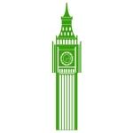 купить Наклейка на Стену Big Ben цена, отзывы