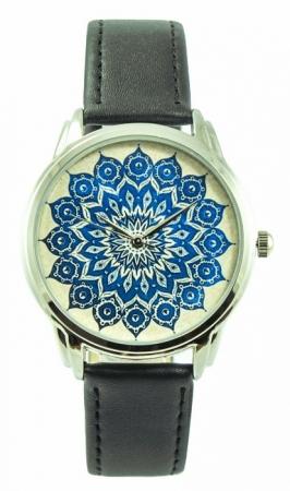 купить Наручные часы Голубой орнамент цена, отзывы