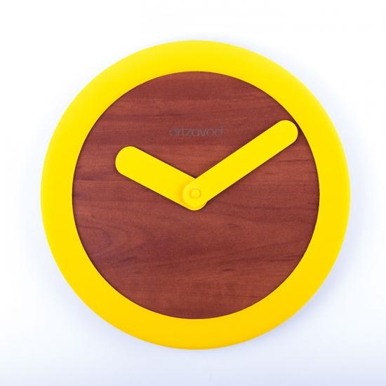 купить Настенные часы KoLo Yellow цена, отзывы