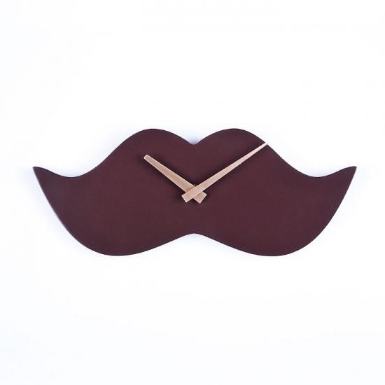 купить Настенные часы Mustache 30 см х 12 см х 25 см цена, отзывы