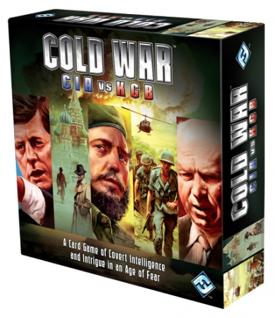 купить Настольная игра Холодная война КГБ против ЦРУ цена, отзывы
