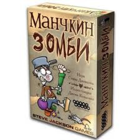 купить Настольная игра Манчкин Зомби цена, отзывы