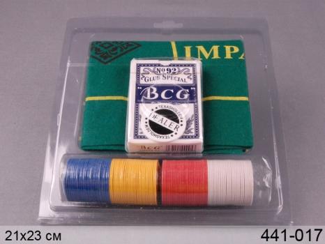 купить Настольная игра Покер 80  фиш блистер цена, отзывы