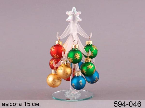 купить Новогодняя декоративная белая елочка 15см цена, отзывы