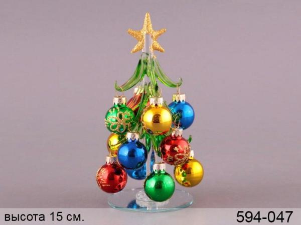 купить Новогодняя декоративная елочка Анжелика 15см цена, отзывы