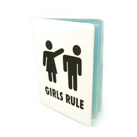 купить Обложка для автодокументов Girls rule цена, отзывы