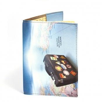 купить Обложка на паспорт Чемодан цена, отзывы