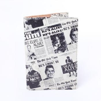 купить Обложка на паспорт Газета  цена, отзывы